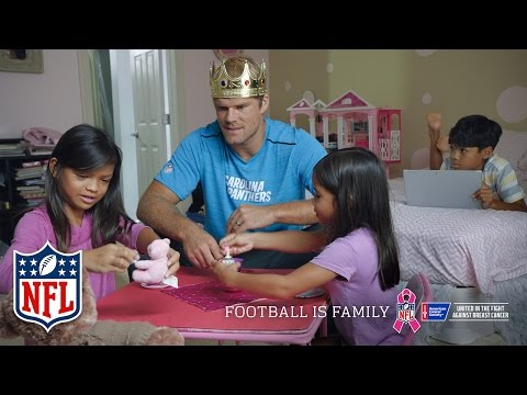 Greg Olsen | NFL Pink | Football is Family