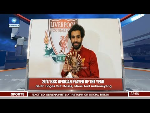 Mohammed Salah Wins BBC African Footballer Of The Year Pt 4 | News@10 |