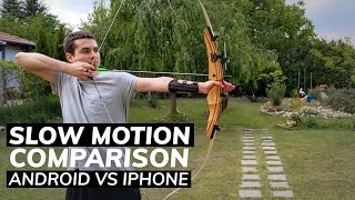 Slow Motion Comparison: Android vs iPhone