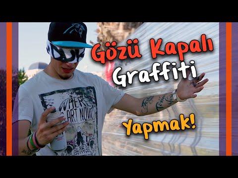 Gözü Kapalı Graffiti Yapmak!