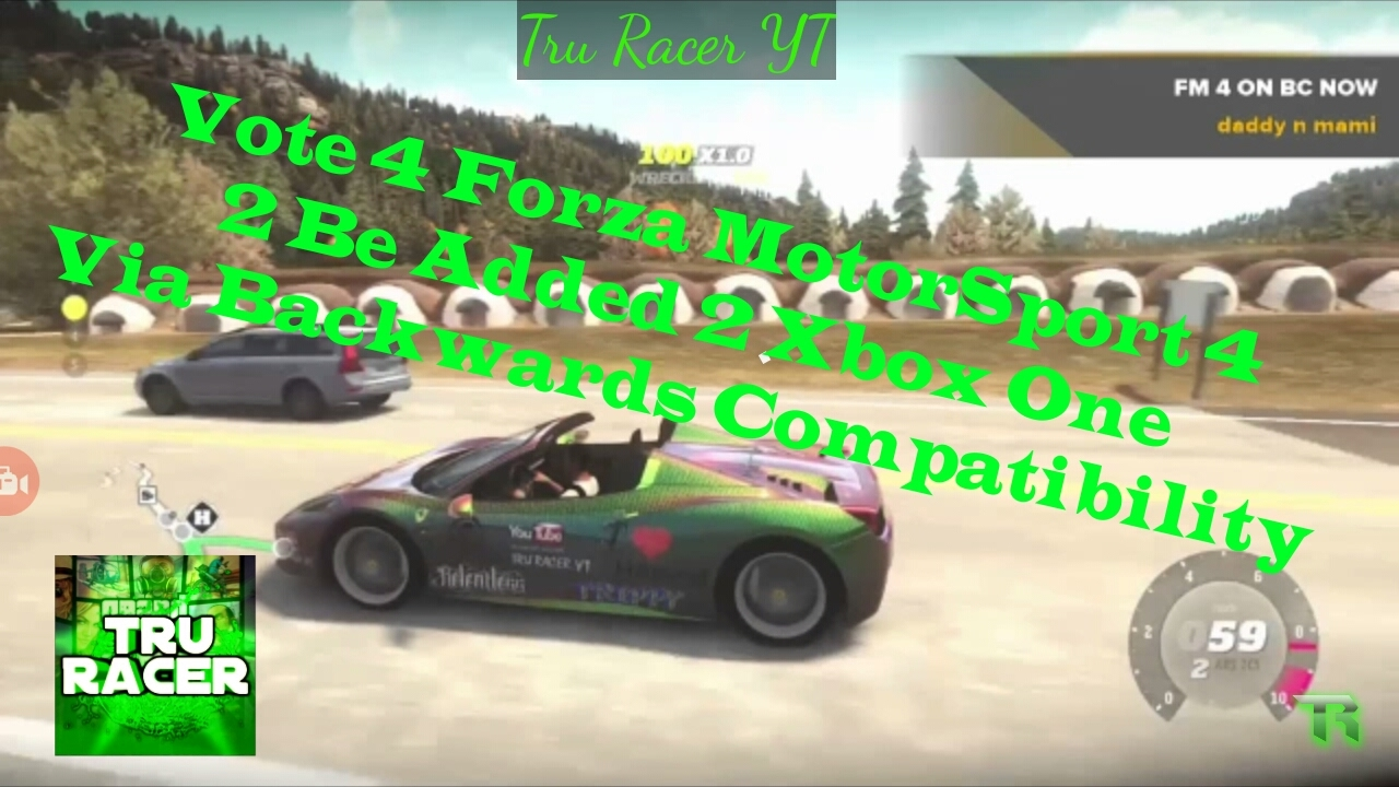 Vote 4 Forza MotorSport 4 For Backward Compatibility On Xbox One  🔥💯👍🔥💯👍