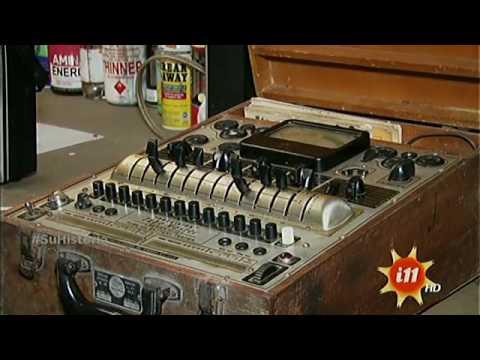 El doctor de radios antiguas en Heredia