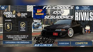 Need For Speed No Limits Android Rivales Clandestino GridLock Piloto Felicidades BP GAMER 1k