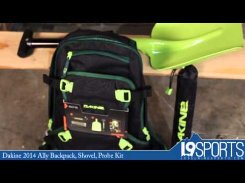 Dakine 2014 Ally Backpack, Shovel, Probe Kit - YouTube 5ad2885d77