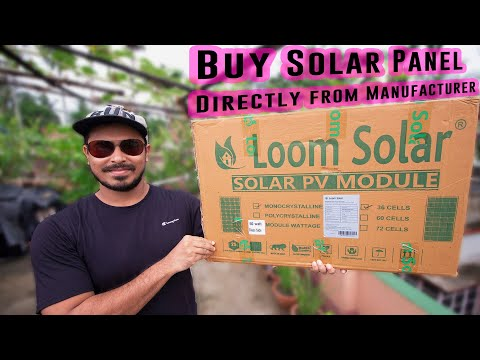 How To Buy Premium Solar Panel Directly from Manufacturer at cheap price 💰in INDIA
