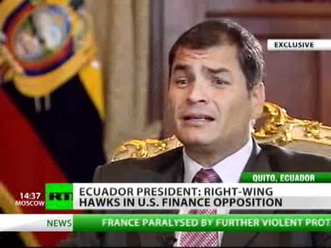Rafael Correa: If I died that day, they'd call it suicide