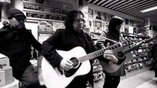 The Posies - The Glitter Prize live acoustic @ 8-raita instore, Turku, Finland Oct. 26th 2010