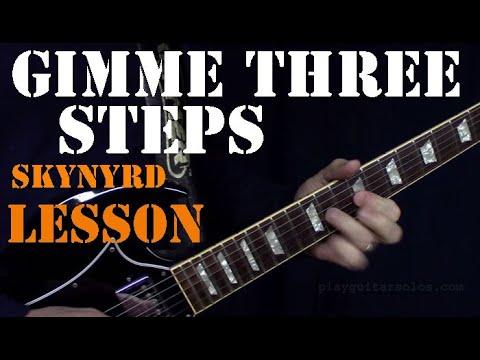 Learn Gimme Three Steps - Lynyrd Skynyrd Guitar Lesson