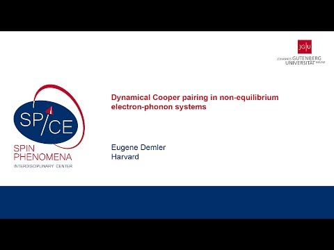 Talks - Non-equilibrium Quantum Matter - Eugene Demler, Harvard