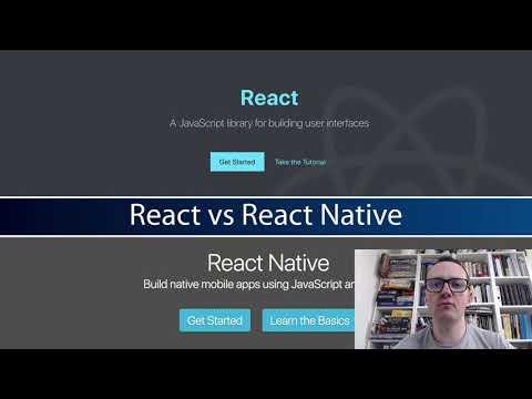 React Native Tutorial - Getting Started #3 - React vs React Native thumbnail