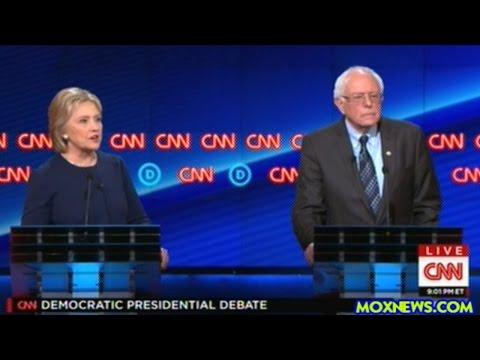 BERNIE SANDERS vs HILLARY CLINTON Democratic Presidential Debate In Flint Michigan pt.2