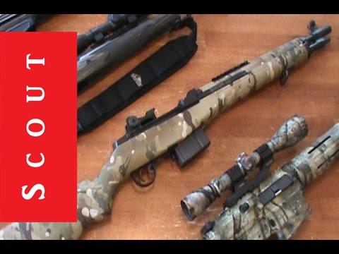 New Multicam Springfield M1A Socom 16 Scout Tactical