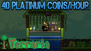 Terraria 1.3 | The Best Money Farm 40 Platinum Coins/Hour (Tutorial)