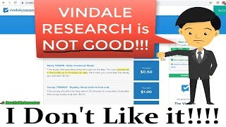 In this vindale research review video, watch me sign up and get started taking paid surveys. during up, i find that there were too many ads (particul...