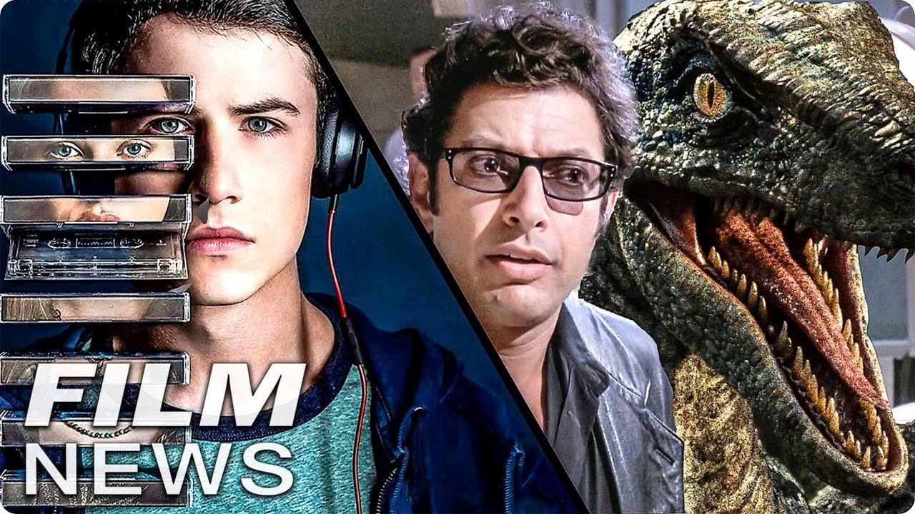 FILM NEWS: TOTE MÄDCHEN LÜGEN NICHT wird heiß diskutiert – JURASSIC WORLD 2 mit Jeff Goldblum