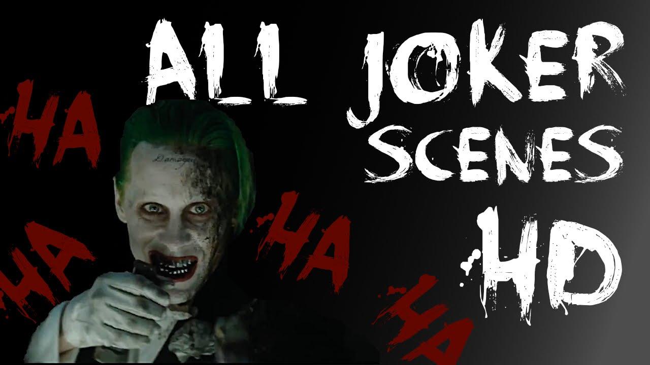 All Joker Scenes HD Suicide Squad #2