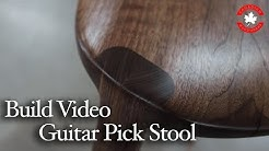Woodworking Life 100 - How to build a sculpted Maloof style 3 leg stool aka the Guitar Pick stool