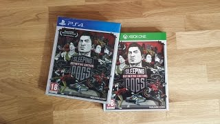 sleeping Dogs: Definitive Edition - Day One Edition unboxing