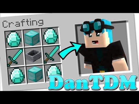 Minecraft - How to Summon DanTDM in a Crafting Table! - Видео из Майнкрафт (Minecraft)