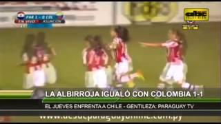 Sudamericano femenino Sub 17 2013: Paraguay 1 vs. Colombia 1 - Cuadrangular final