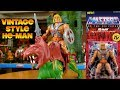 Super7 Vintage Style Masters of the Universe HE-MAN - Filmation Retro Collection