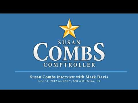 Susan Combs interview with Mark Davis on KSKY, 660 AM Dallas, TX