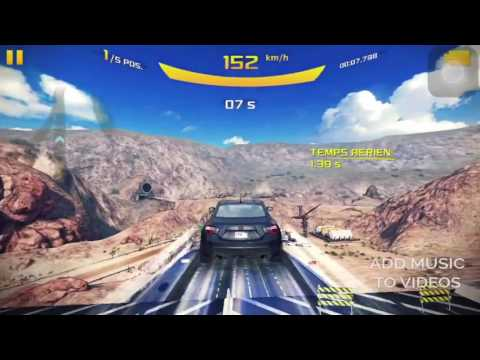 ASPHALT 8  COURSE A ELIMINATION
