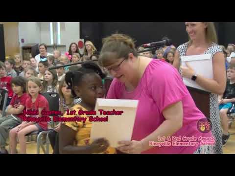 Rineyville Elementary School Grades 1-4 Awards May 29, 2019