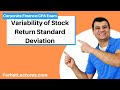 Variability of Stock Return Standard Deviation   Corporate Finance   CPA Exam BEC CMA Exam  Chp12 p3
