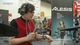 Namm Musikmesse Russia 2016: ALESIS COMMAND KIT