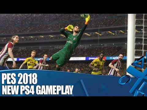 PES 2018 PS4 Pro Gameplay - We play a really exciting 0-0 draw (really)