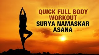 Quick Full Body Workout: Suryasana - Shikha Chandok - Fit Vit