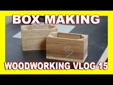 Little Boxes - Woodworking Vlog 15