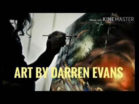 Spray Paint Art by Darren Evans