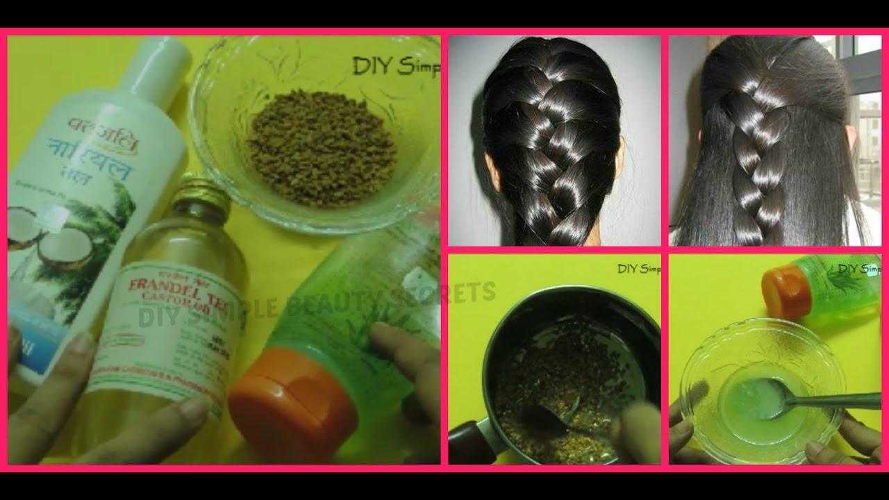 8b357de8e3a Grow 3 times longer hair -3 ways to use castor oil for hair growth fast  naturally - YouTube