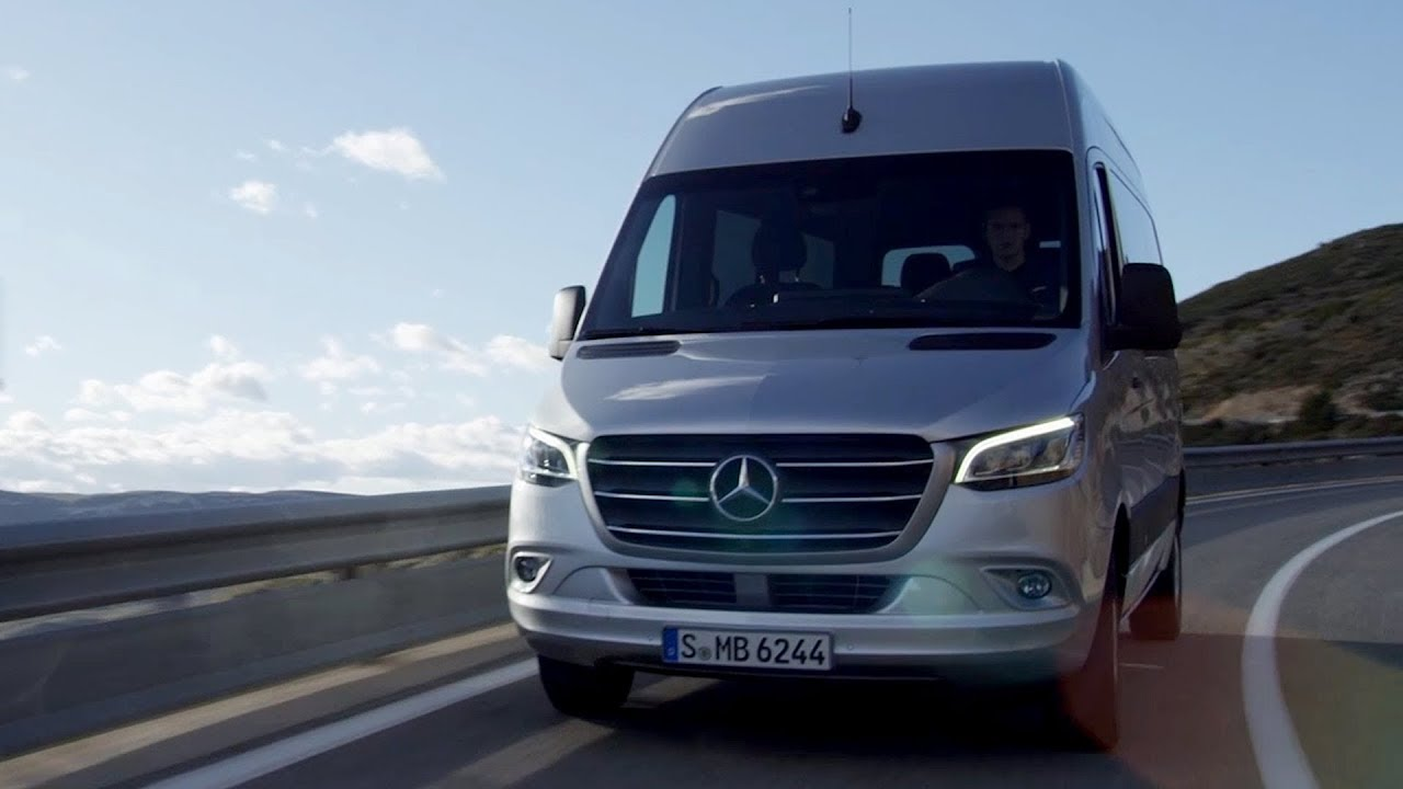 2018 mercedes benz sprinter tourer | brilliant silver metallic - youtube