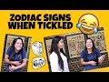 Zodiac Signs when TICKLED || ZODIACMORE