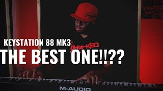The 3rd Time's The Charm! |M-Audio Keystation 88 MK3 Review|