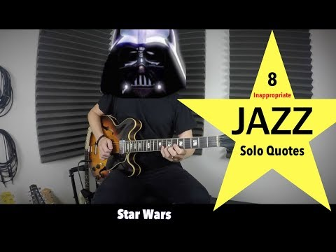 8 Inappropriate Jazz Solo Quotes