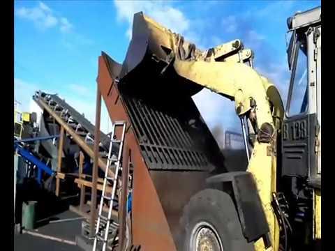 Сортировка угля на Угольном складе - Челябинск