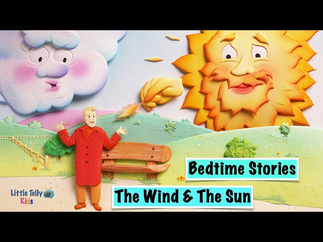 The Wind and The Sun || Bedtime Stories || Moral Stories || Peaceful & Relaxing || Story Series ||