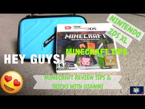 MINECRAFT NINTENDO 2DS XL REVIEW, TIPS & TRICKS