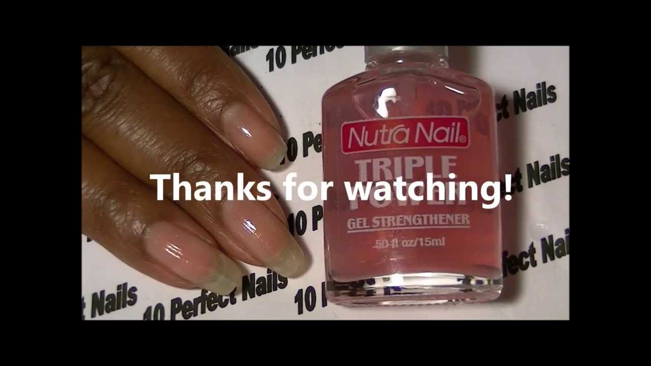 Nutra Nail Triple Power Product Review - YouTube