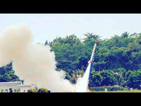 Uji Coba Roket LAPAN RX-450