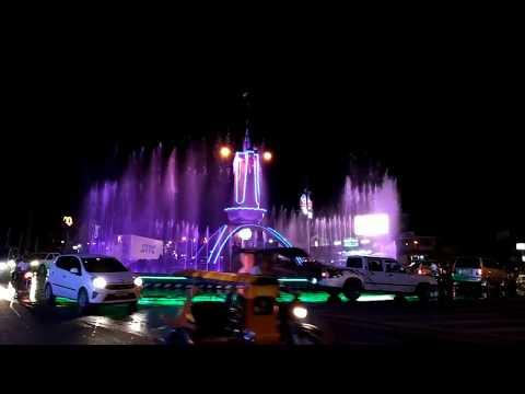 Koronadal City's Fountain Show at the Rotunda