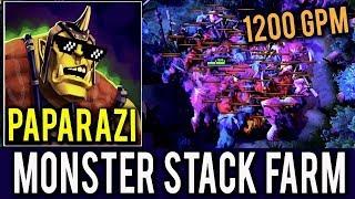 Paparazi Dota 2 Alchemist 1200 GPM - NEW Monster Self Stack Farm