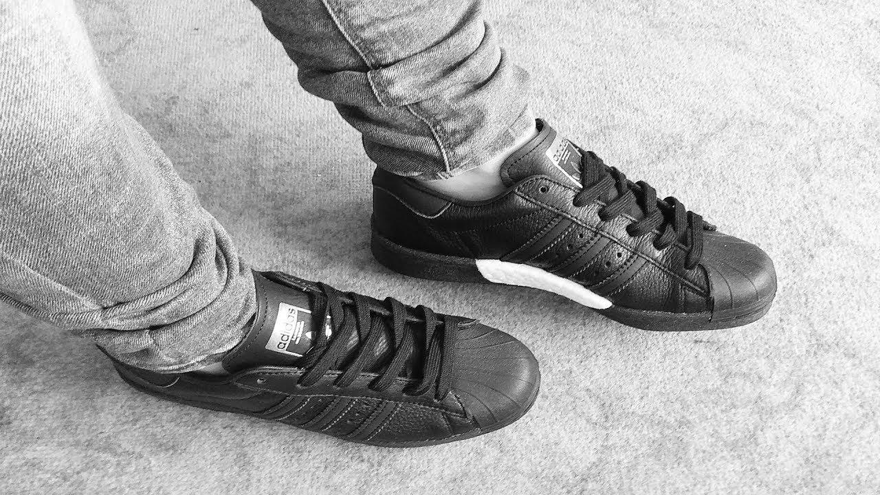 adidas Originals Superstar Boost | Noir | Sneaker | BB0189