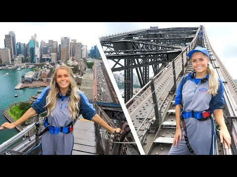 BEING A TOURIST FOR THE DAY IN MY OWN CITY! - Doing The Harbour Bridge Climb!