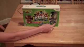 Skylanders Swap Force Nintendo Wii unboxing