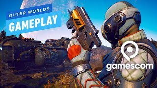 6 Minutes of Outer Worlds Gameplay - Gamescom 2019